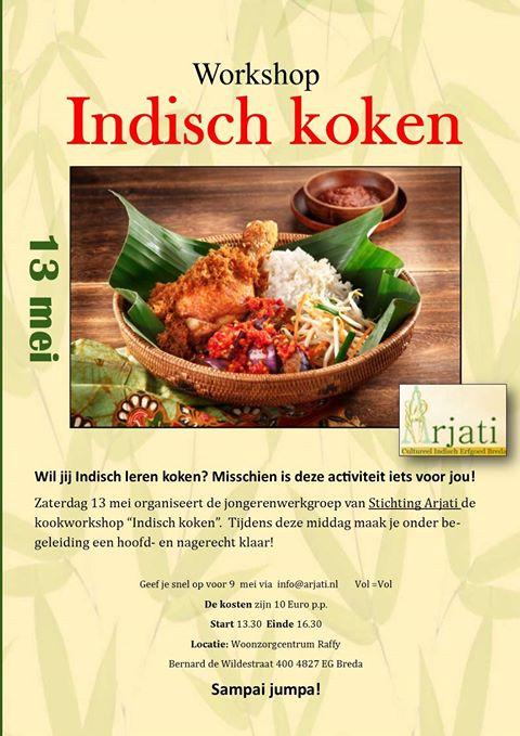 indische workshop poster II