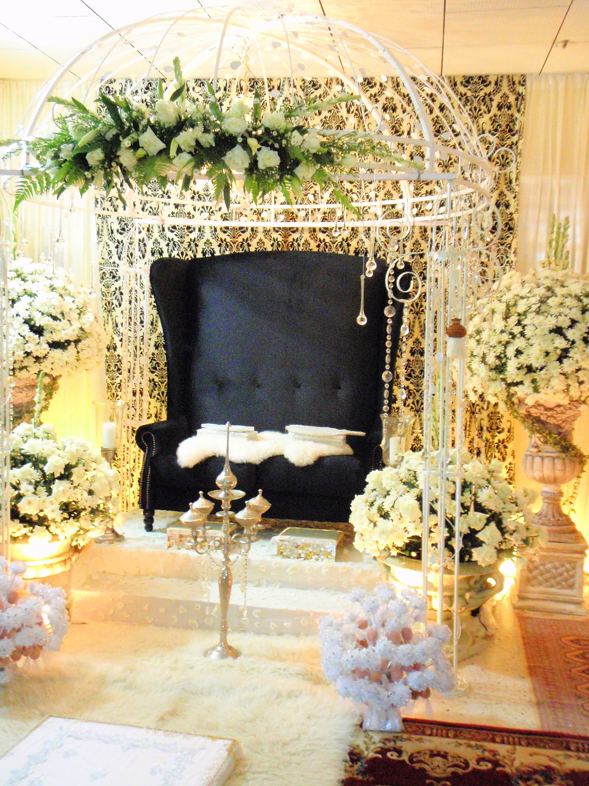 Wedding Home Decoration In House Wedding Decoration Arjuna Cipta