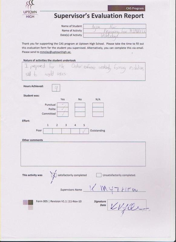 Supervisor Evaluation Reports - CAS