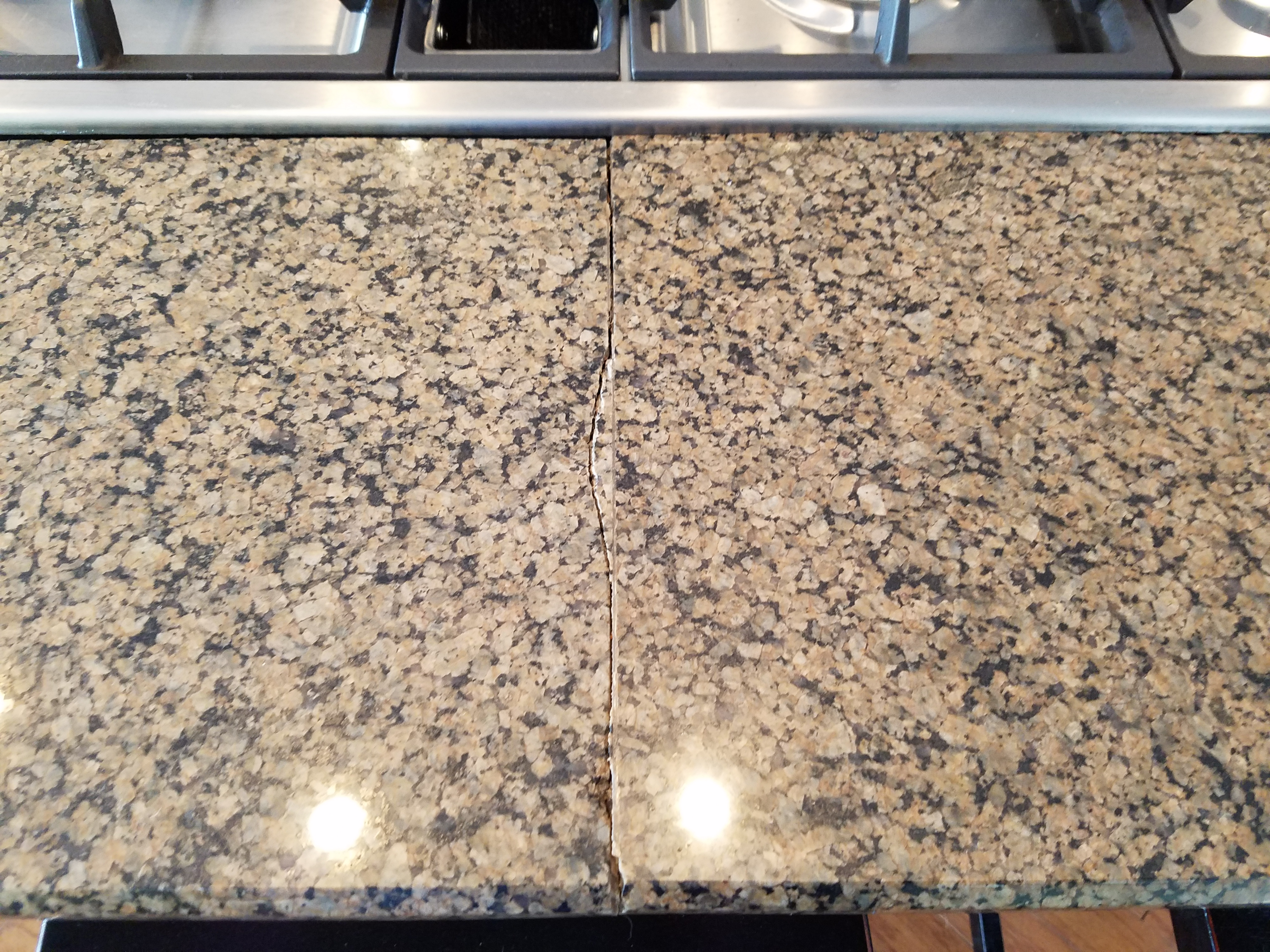 How To Repair Crack In Granite Countertop Home Arkansasstonerepair