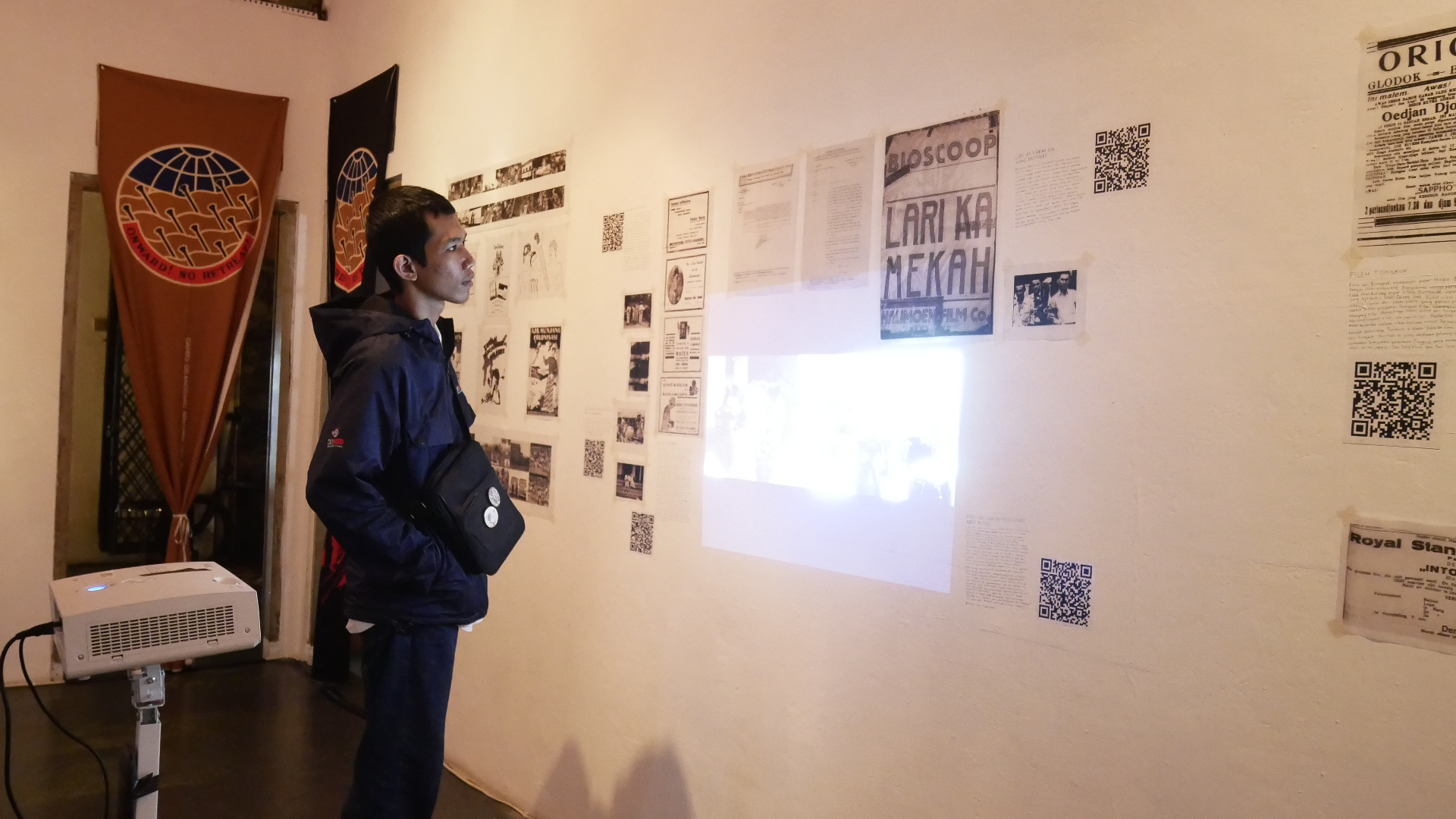 Background Ruang Kelas Kultursinema Traveling Exhibition In Yogyakarta Arkipel