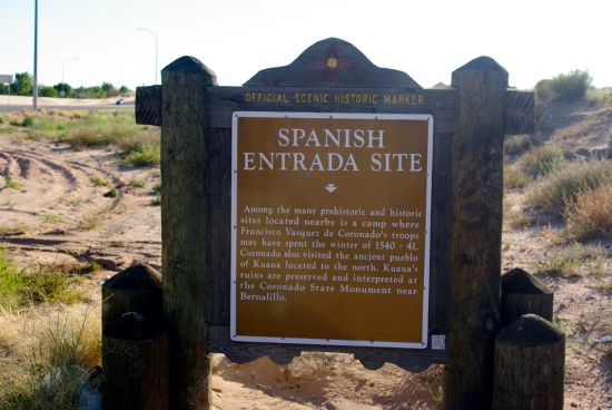 Spanish Entrada Marker