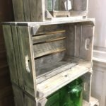 crate bushel boxes reclaimed wood vintage