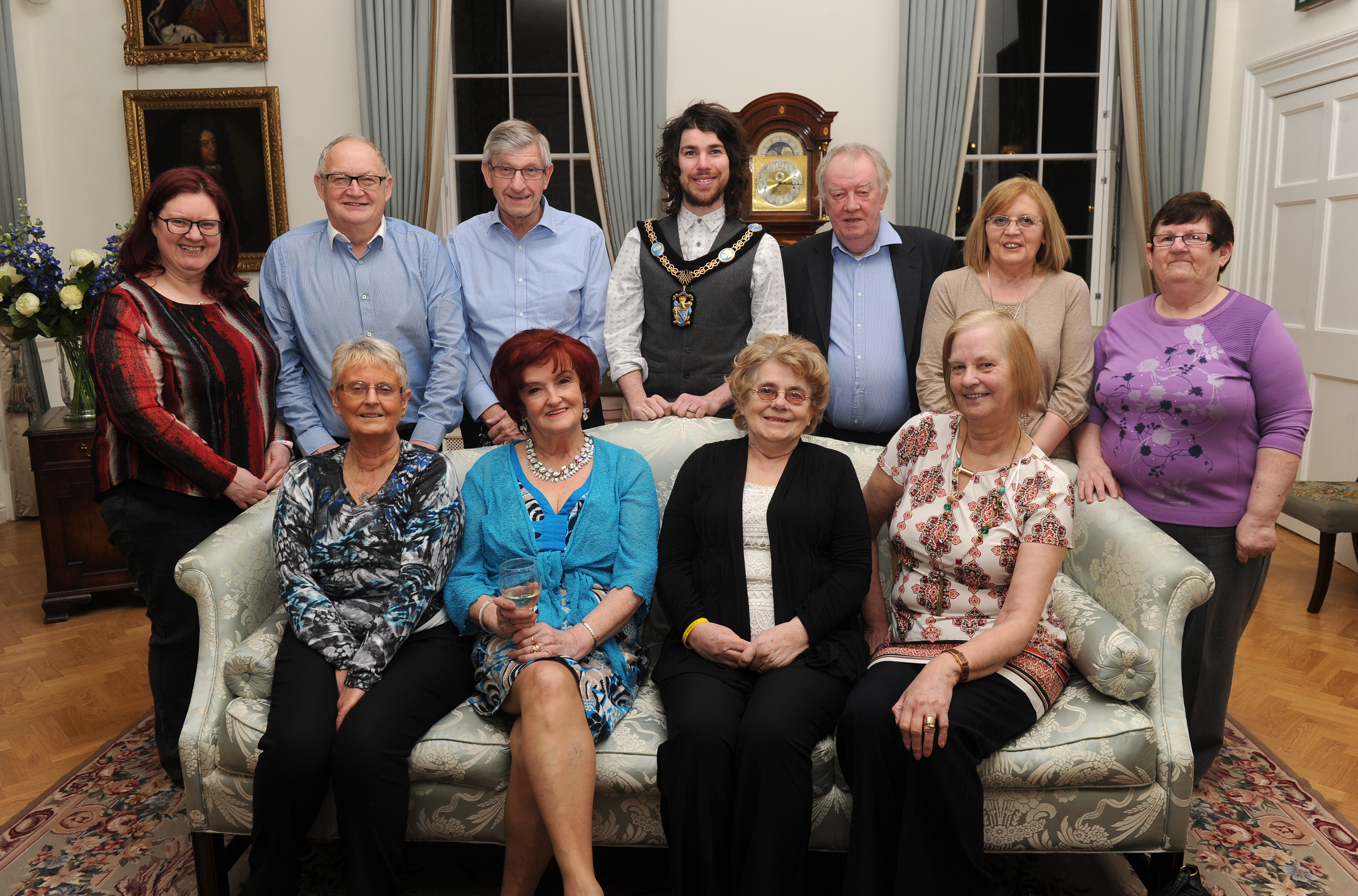 Recyclinghof Garath Brownlow Festival Committee Visit The Palace Armagh City