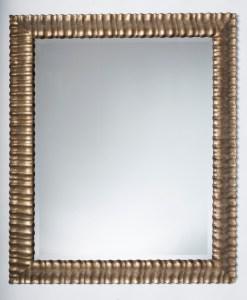 Ripple Carved Mirror