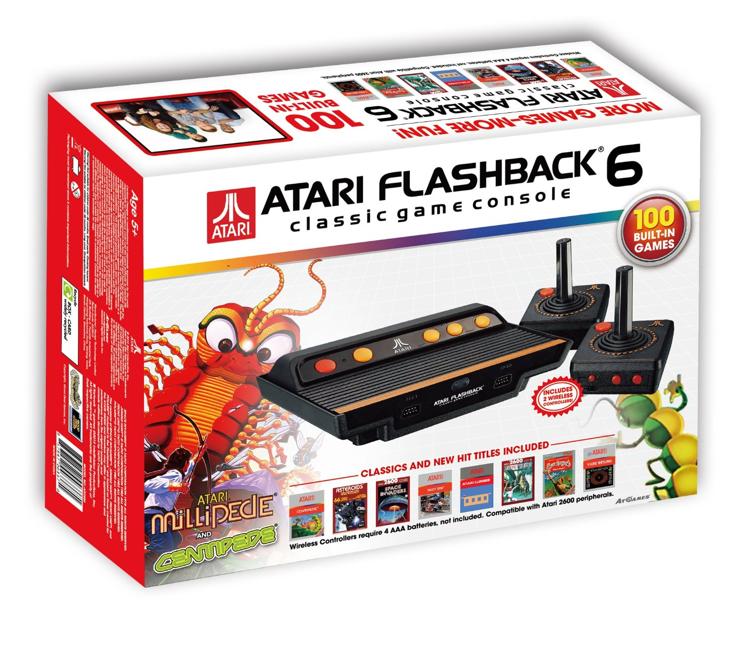 Atari flashback 6 the official game list - Atari flashback classic game console game list ...