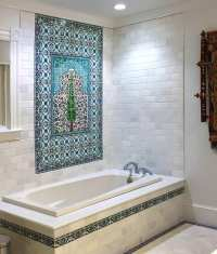 Bathroom Tile Design Ideas & Tile Murals