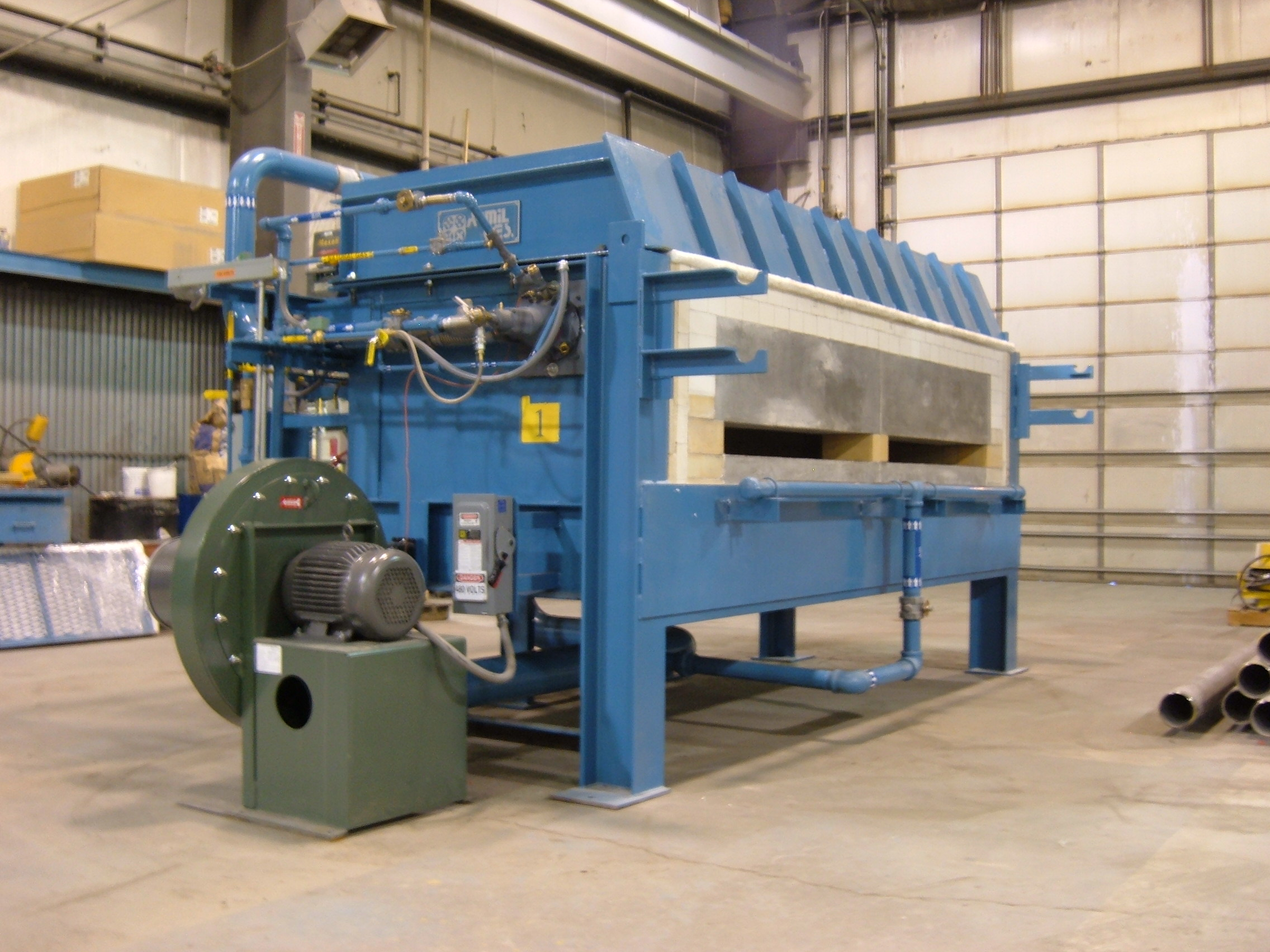 Industrial Forging Custom Forging And Heat Treating Furnaces Industrial Furnaces