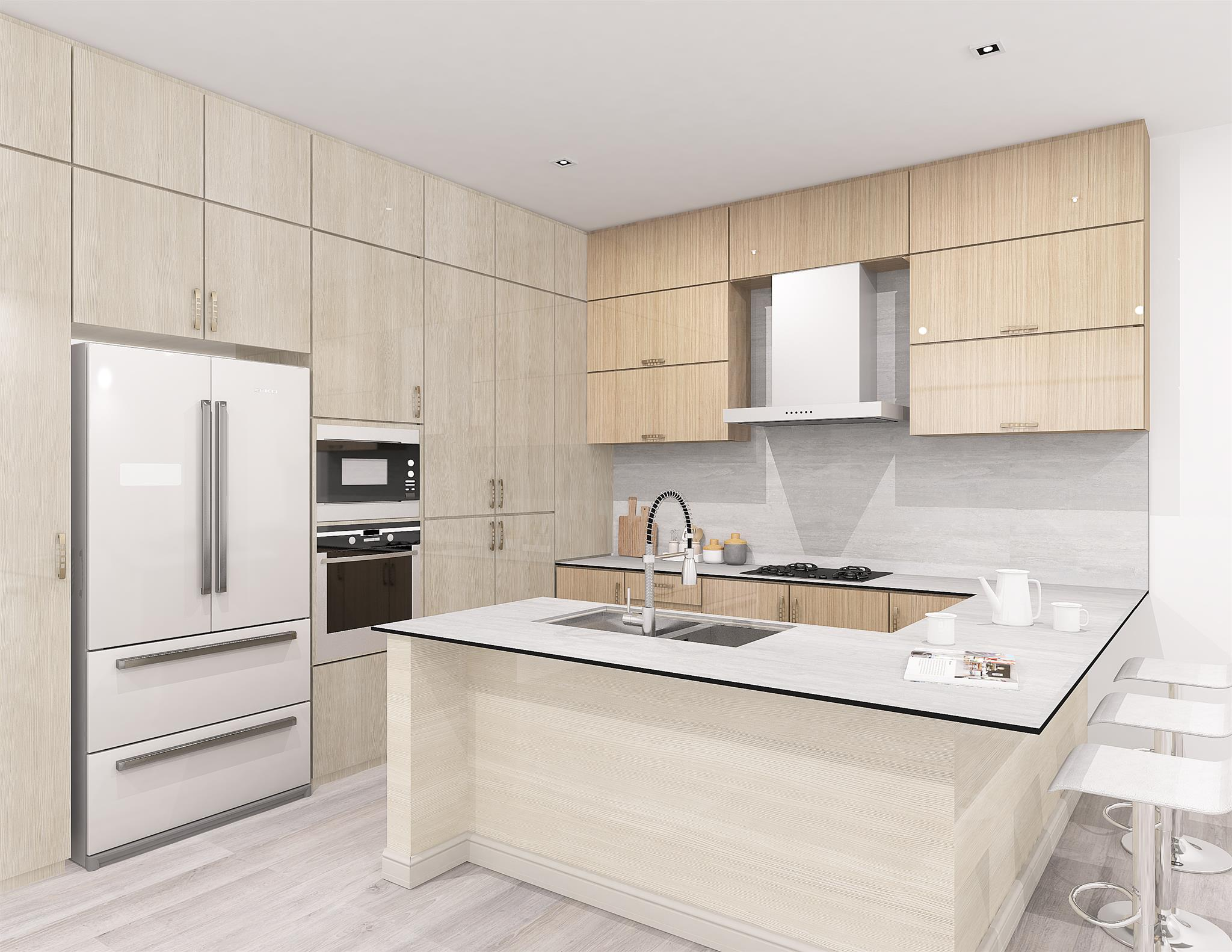 Need Luxurious But Resilient And Robust Laminated Kitchen Cabinets In Montreal