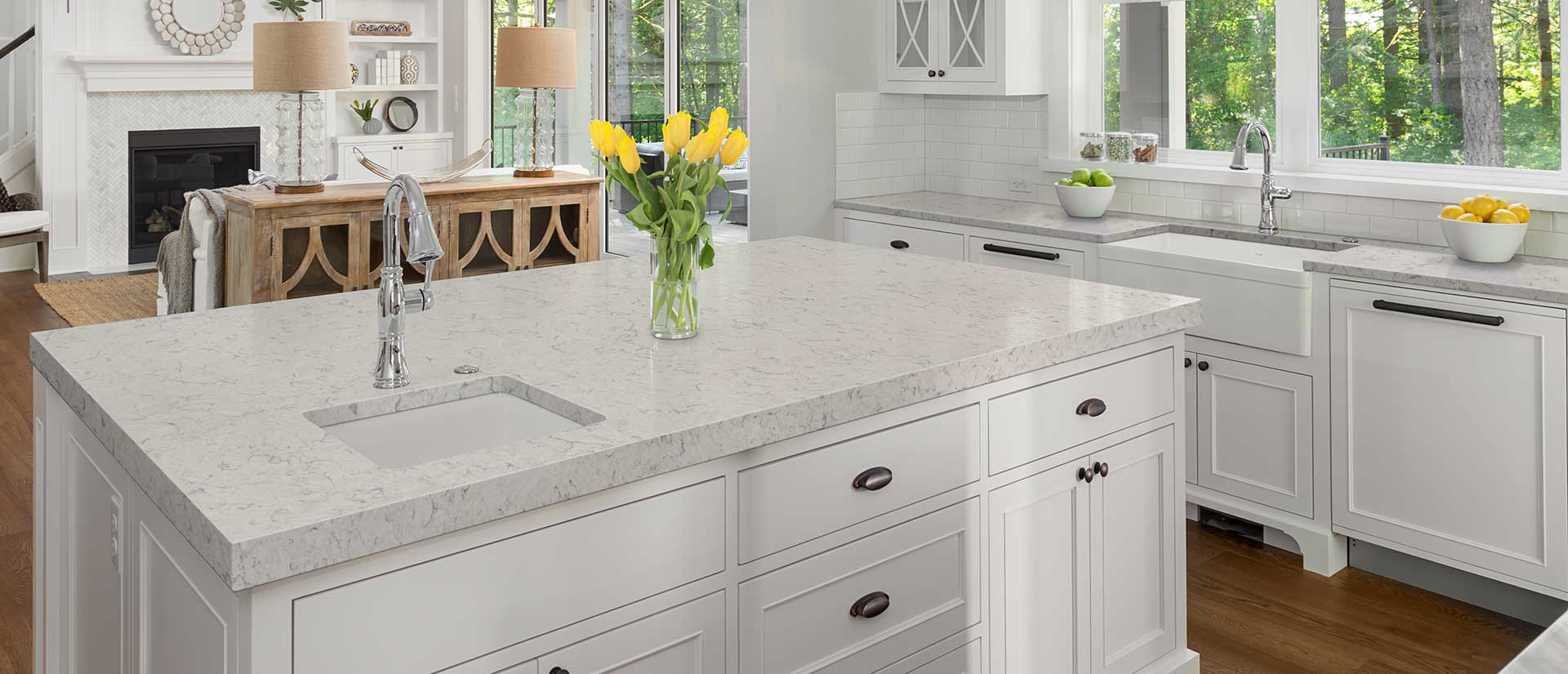 Looking For A Clean Looking Countertop That S Perfect For A White Themed Kitchen