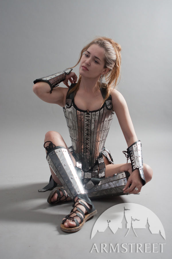 Elven Girl Wallpaper Lady Warrior Corset Armor For Sale Available In Brass