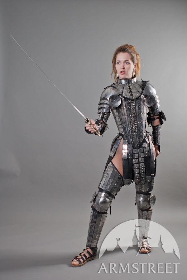 Japn Girl Sword Wallpaper Fantasy Lady Warrior Functional Etched Armor Legs For Sale