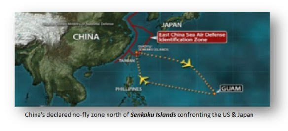 China Senkaku No Fly Zone