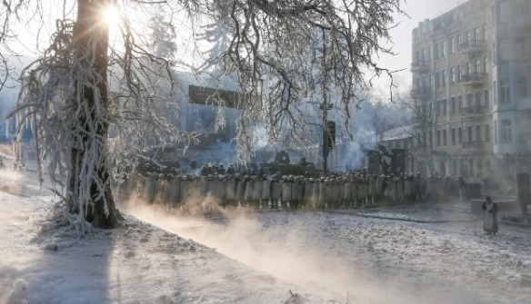 Ukraine-Riot Police