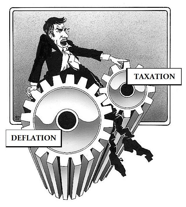Taxation-Deflation