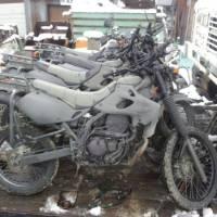 本物の自衛隊偵察用オートバイ本体を入手する事ができるアイデアと方法