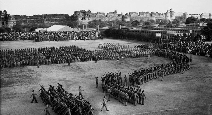 first republic parade 25 1950