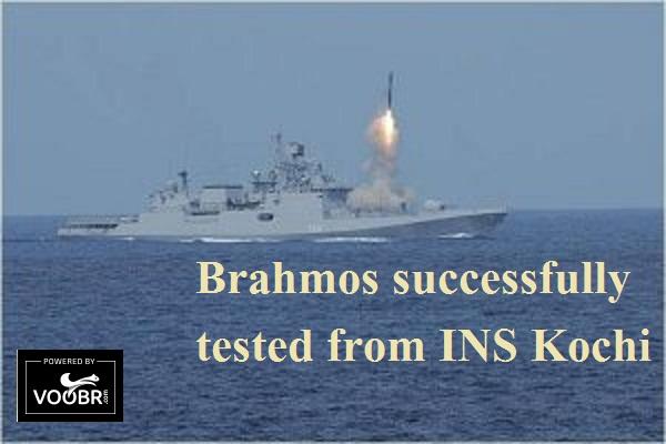 Brahmos - INS Kochi