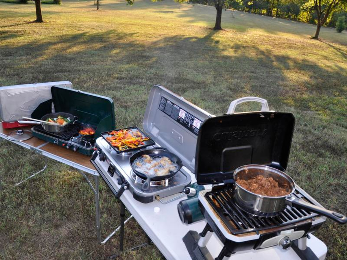 Grill Camping 4 New Portable Stove Grills For Camping And Tailgating