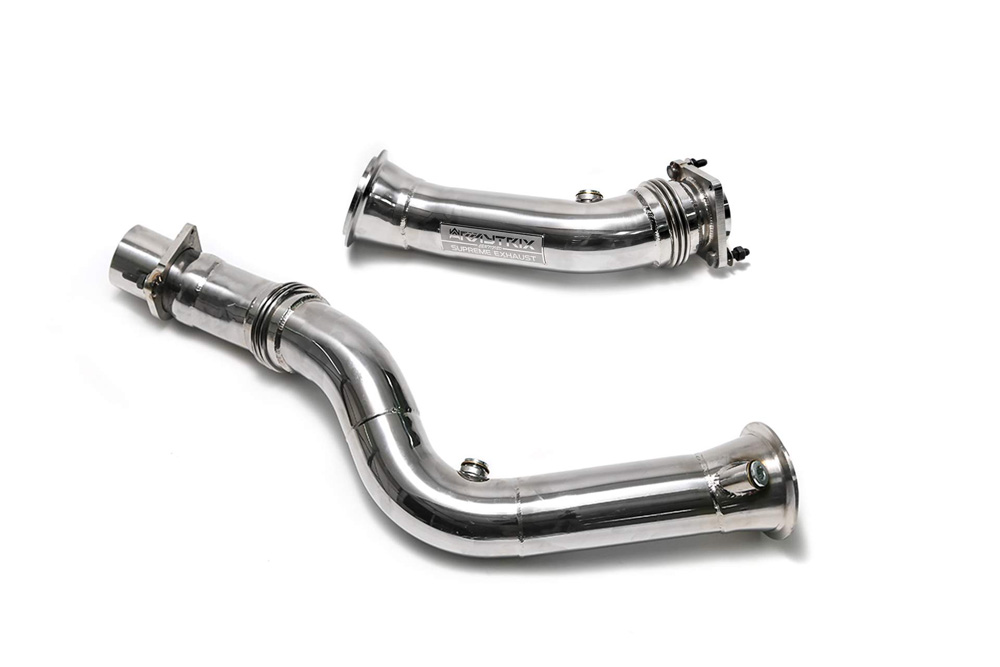 M4 Performance Exhaust Bmf8m Dd Armytrix High Flow Performance Race Pipe Bmw M3 M4