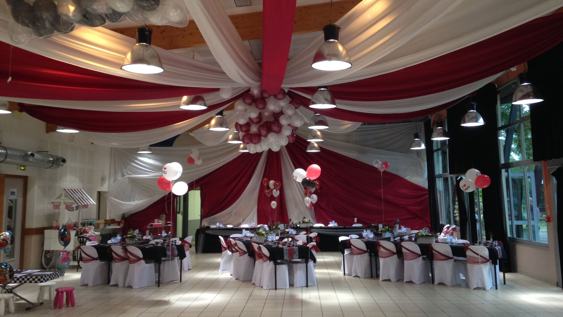 Photo De Decoration Deco Mariage Bordeaux Et Blanc Gy12 Jornalagora