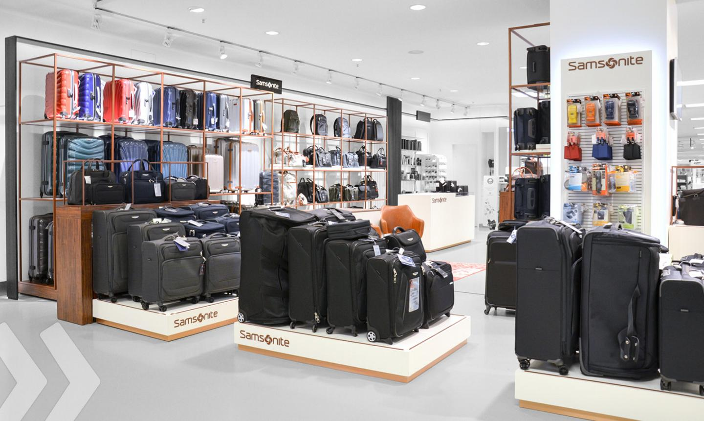 Boutique Free Tours Samsonite Shop In Shop Arno Group