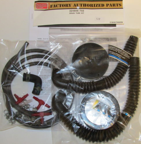 324806 755 Bryant Carrier Furnace Condensate Drain Kit