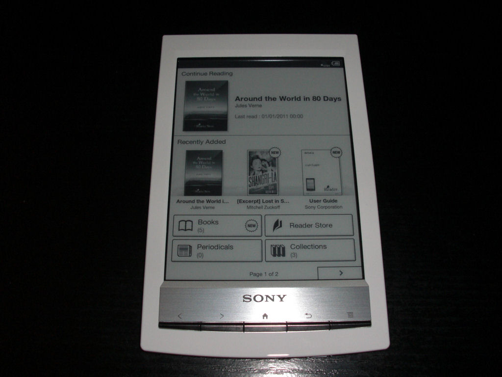 Libro Electronico Sony Prs T1 Devices Using Android Arno Welzel