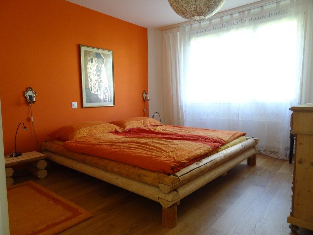 Wandfarbe Schlafzimmer Apricot Erika