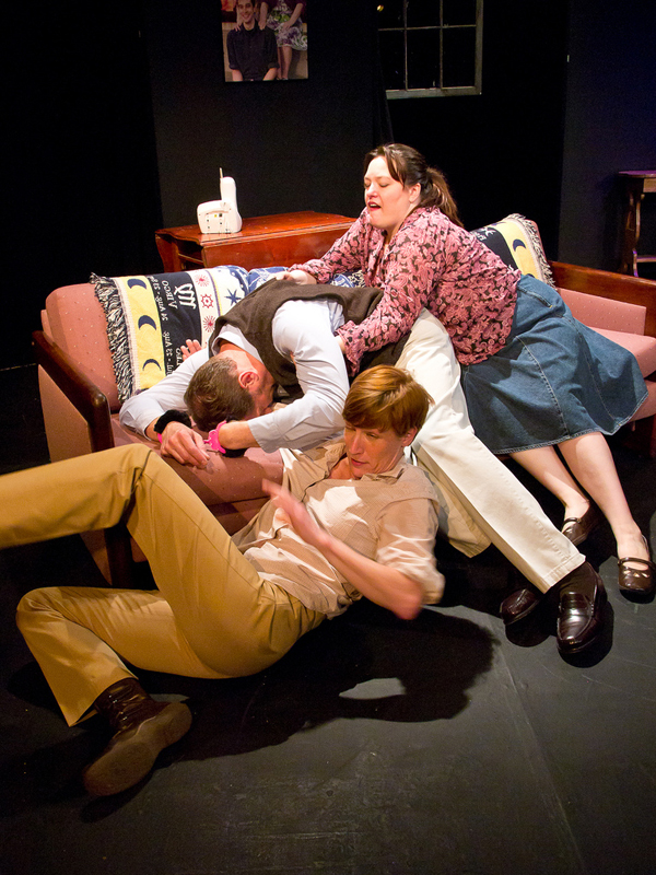 """The Gene Pool"" at Annex Theatre, Capitol Hill, Seattle"