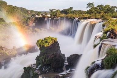 Iguazu Falls (aka Iguassu Falls and Cataratas del Iguazu), Misiones Province, Argentina