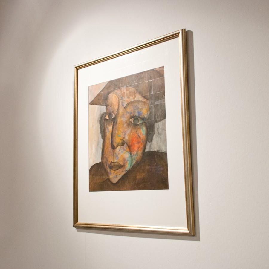 Михаил Гробман « 4 выставки», раздел «Москва, 1960-е», ММСИ, Москва, 2013 // Фото: Ольга Данилкина