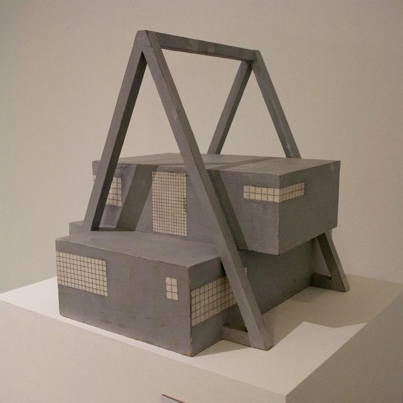 Музей современного искусства I. 2010. Дерево, картон, пигмент. Собственность автора