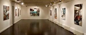 Выставка «Dieselpunk» в галерее «Триумф». Москва, декабрь 2013