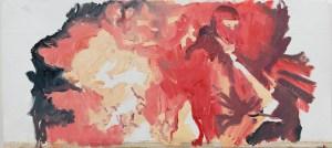 Attraktion #61. 2014. Холст, масло. 38х85