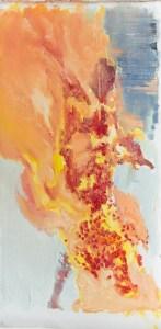 Attraktion #66. 2014. Холст, масло. 112х56