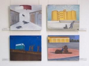"""Лада Шаповалова. Личное знакомство, галерея """"Ковчег"""", 2006, Москва"""