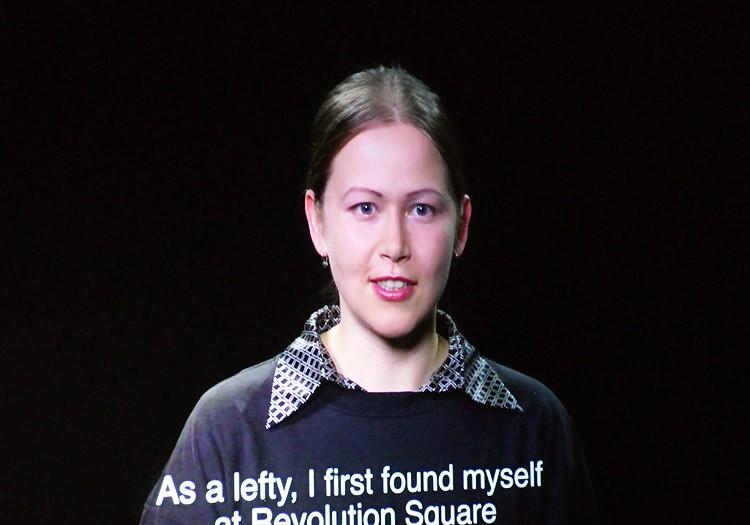 «Фабрика найденных одежд» (Наталья Першина-Якиманская), перформанс «Дебаты о разрыве», Manifesta 10