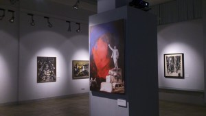 """Виталий Комар, эскиз памятника """"Бульдозерной выставке"""", 2014"""