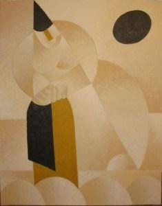 Полоскание белья. Кубистический супрематизм, 1967