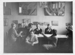 """Отчетная выставка """"стерлиговцев"""" // Конец 60-х – начало 70-х // Фотографии из архива Геннадия Зубкова"""