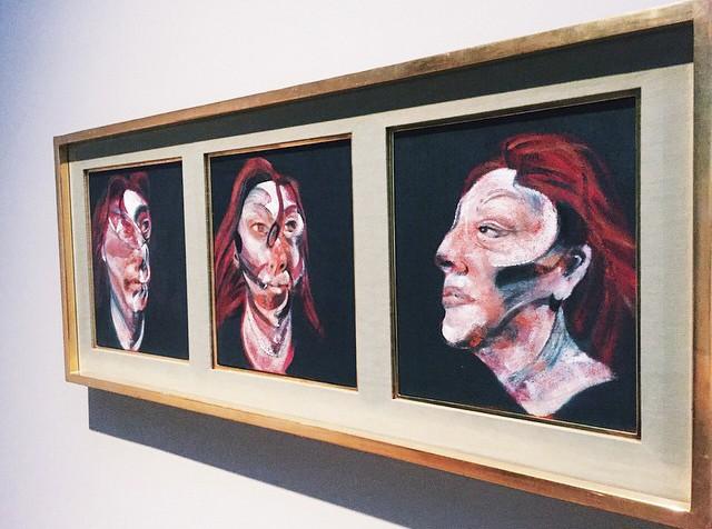 Фрэнсис Бэкон «Три наброска к портрету Изабель Росторн»
