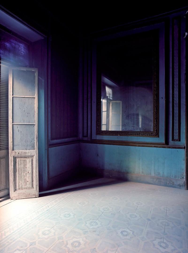 Ксения Никольская, Синяя комната, дворец Сакакини, Каир, 2007