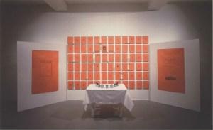 """Презентация первого номера журнала """"Пастор"""" // Галерея Софии Унгерс, Кельн, 1992"""