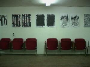 """Император Вава, """"Парные работы на бумаге"""", галерея """"Франция"""", 29 марта 2004"""