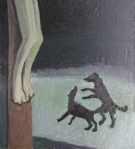 """Тимофей Теряев """"Голгофа"""", 2001"""