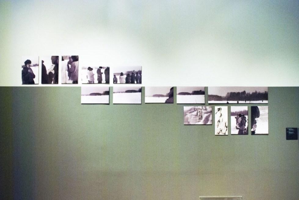 """Коллективные действия. Документация акции """"Гляда на водопад"""". 1980. Фотобумага, черно-белая печать"""