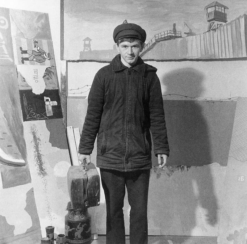 Константин Звездочетов. Мастерская в Фурманном переулке. 1987 // Фото: XL Галерея
