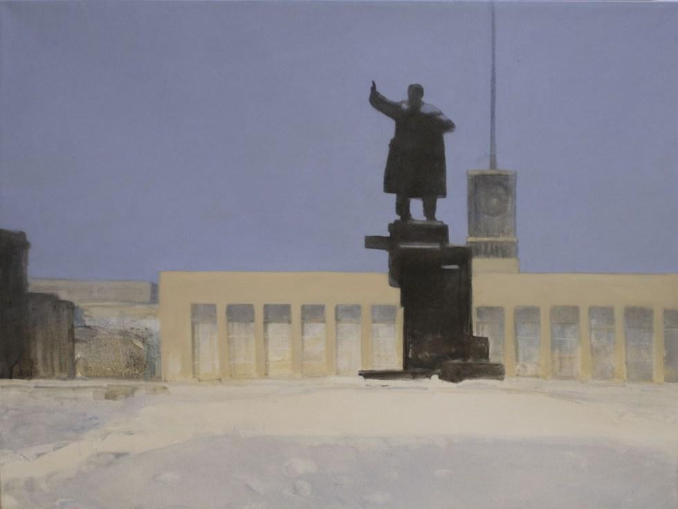 Владимир Шинкарёв. Площадь Ленина