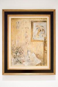 Михаил Ларионов. Натюрморт в комнате. 1920